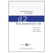 Test pozornosti d2